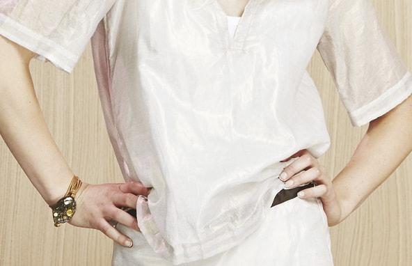 Blusa satinada Manila Grace Inarkadia Bilbao