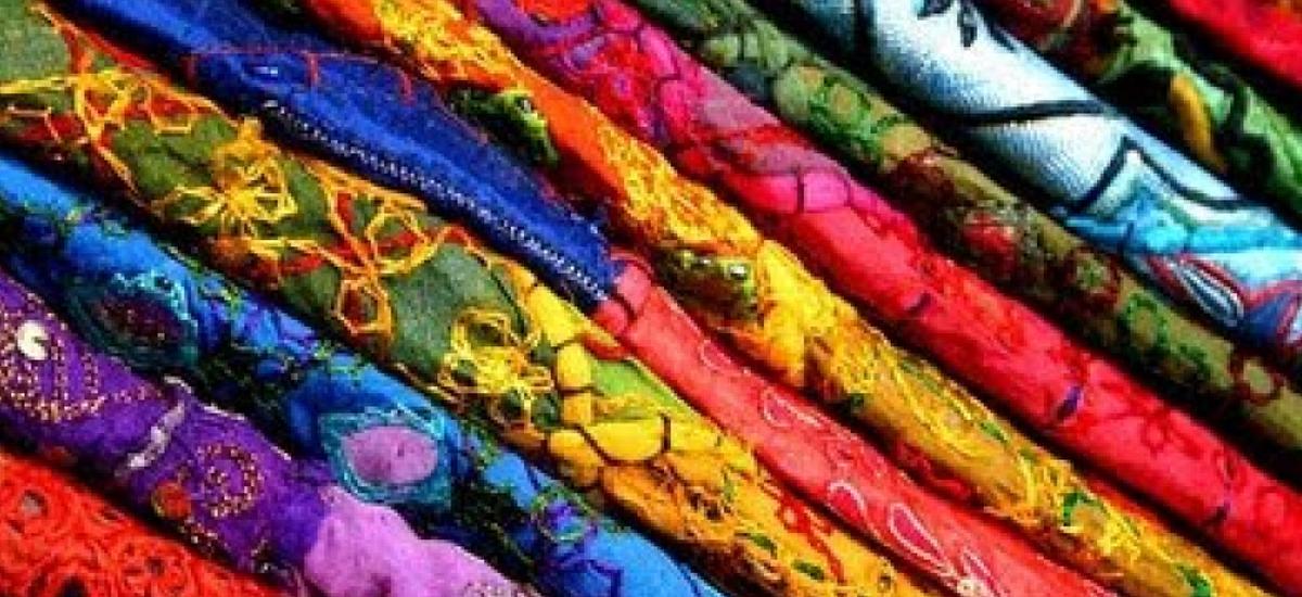 Telas estampadas para vestidos fiesta